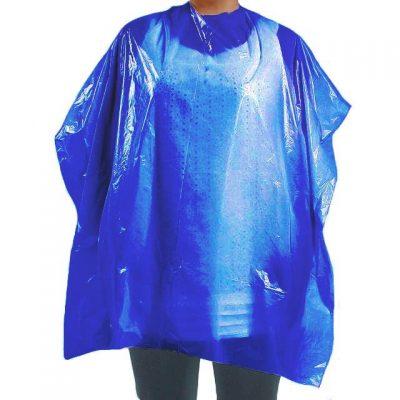 Capa de tinte desechables color azul plástico