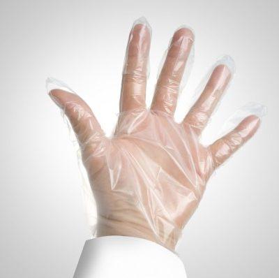 guantes plástico talla unica